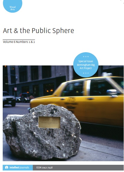 Art & The Public Sphere